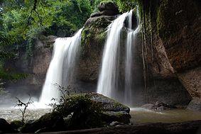 Haeo Suwat waterfall in Khao Yai national park