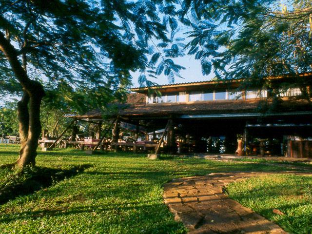 the old barn at Village farm society in Khao Yai