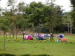 ranger station camping site Khao Yai