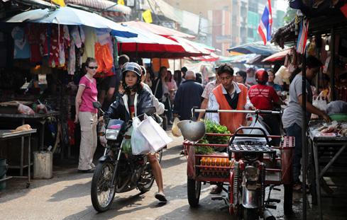 Pak Chong street markets