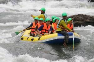 Rafting in Khao Yai, Kaeng Hin Phoeng rapids, Prachinburi province