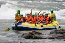 Rafting on Lam Takhong in Khao Yai national park
