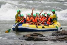 Rafting on Lam Takhong in Khao Yai national park